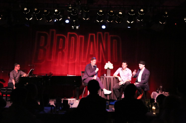 Randy Redd, Frank DiLella, Corbin Bleu and Bryce Pinkham
