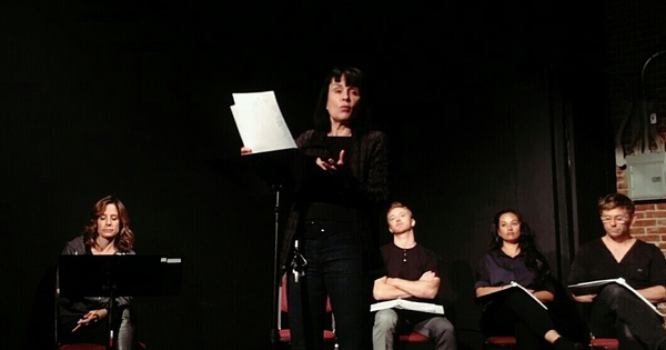 Elizabeth Greer, Diane Venora, Michael Welch, Samantha Esteban  and Mark Pellegrino