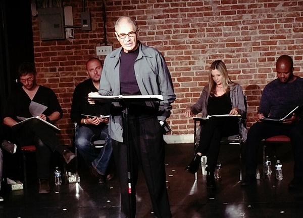Mark Pellegrino, Stelio Savante, Robert Forster, Mira Sorvino and Sal Masekela Photo