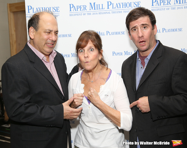 Michael Kostroff, Madeline Doherty and David Josefsberg  Photo