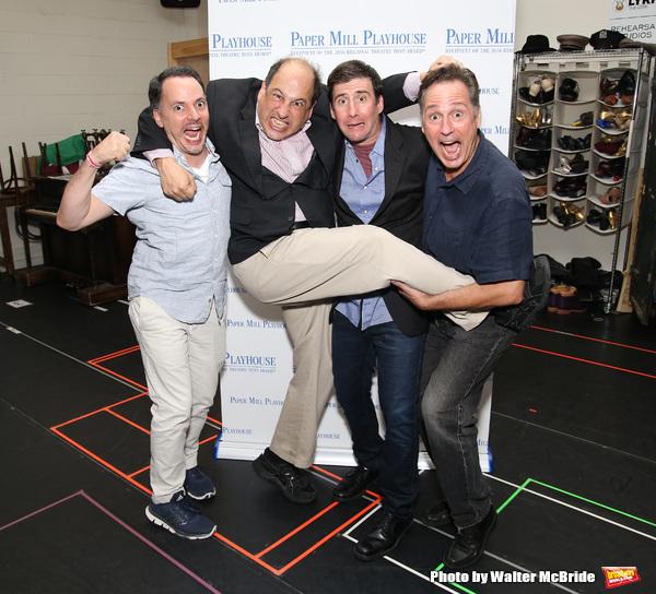 Mark Price, Michael Kostroff, David Josefsberg and Kevin Pariseau  Photo