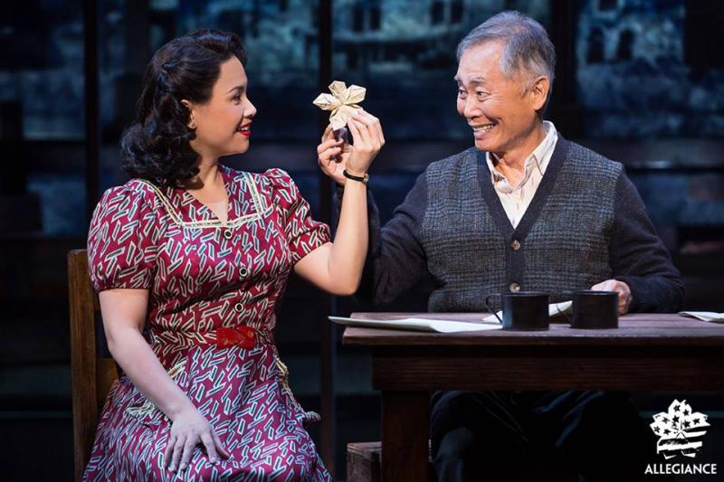 Broadway Production of ALLEGIANCE, Starring George Takei, Hits Theaters Nationwide Today