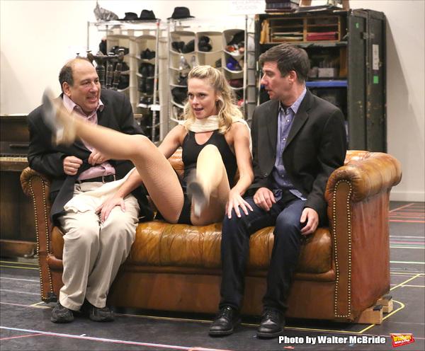 Michael Kostroff, Ashley Spencer and David Josefsberg
