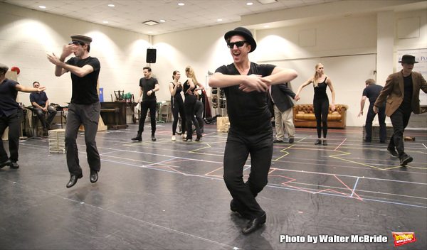 Photo Coverage: In Rehearsal with Paper Mill Playhouse's THE PRODUCERS