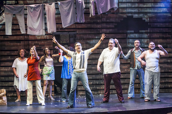 Photo Flash: First Look at Tito Nieves and More in New Musical I LIKE IT LIKE THAT