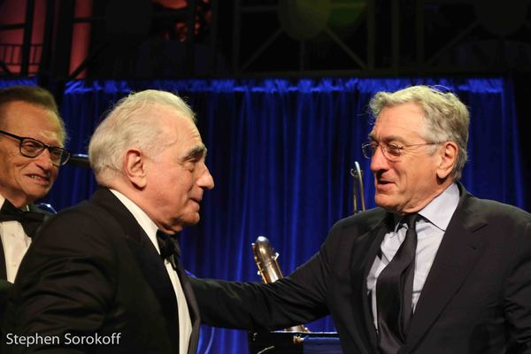 Larry King, Martin Scorsese, Robert De Niro