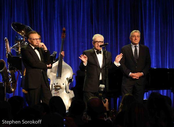 Larry King, Dean of Friars, Martin Scorsese, Robert De Niro