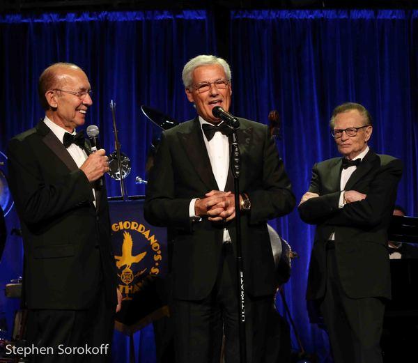 Frank Capitelli, Massimo Zanetti, Friars Club Icon Award for Philanthropy, Larry King, Friars Club Icon Humanitarian Award