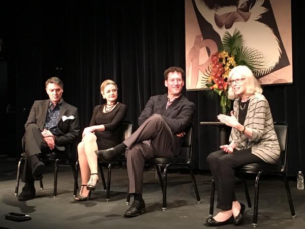 Robert Cuccioli, Alison Fraser, Professor Andrew M. Flescher, Shaw scholar Judith Quillard