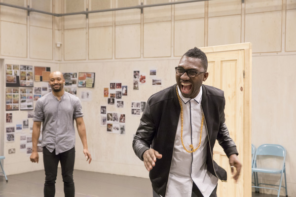 Photo Flash: ONE NIGHT IN MIAMI Rehearses for the Donmar