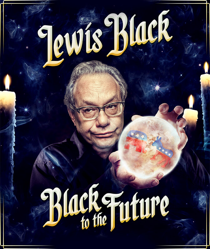 Broadway's LEWIS BLACK: BLACK TO THE FUTURE Airs on Comedy Central