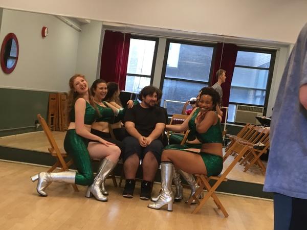 Photos: Sneak Peek at WILD WOMEN OF PLANET WONGO in Rehearsal