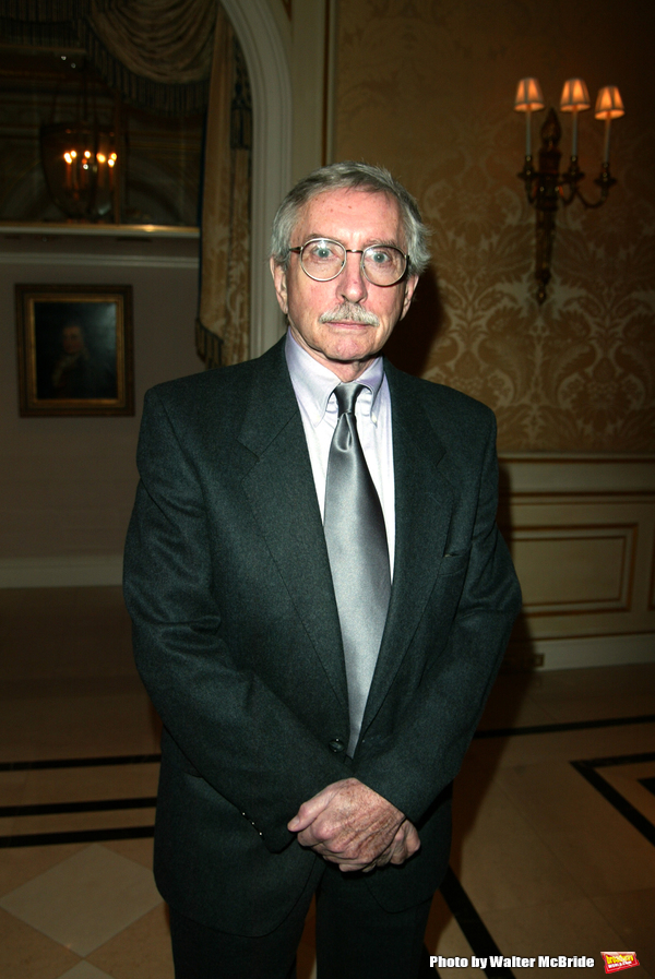 EDWARD ALBEE attending the Signature Theatre Company.Honors Event at the Essex House, New York City..May 5, 2003.
