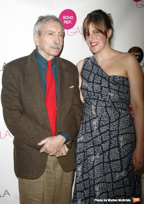 Edward Albee & Sarah Benson (Soho Rep Artistic Director) attending the SOHO Rep Spring Gala 2007 held at .101 Riverviews in New York City..May 14, 2007.