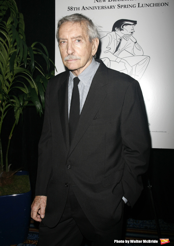 Edward Albee attending the New Dramatists 58th Annual Spring Luncheon to honor Edward Albee at the Mariott Marquee Hotel in New York City..May 17th, 2007.Edward Albee & Michael Ceveris attending the New Dramatists 58th Annual Spring Luncheon to honor Edwa