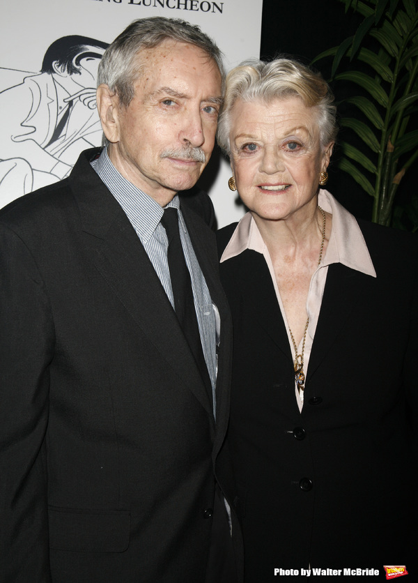 Edward Albee & Angela Lansbury attending the New Dramatists 58th Annual Spring Luncheon to honor Edward Albee at the Mariott Marquee Hotel in New York City..May 17th, 2007.Edward Albee & Michael Ceveris attending the New Dramatists 58th Annual Spring Lunc