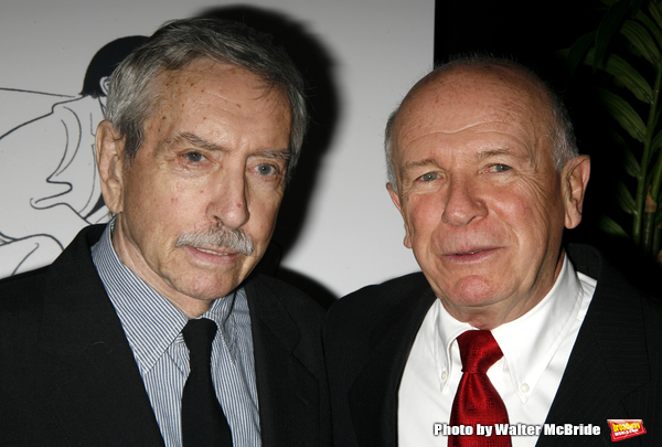Edward Albee & Terrence McNally attending the New Dramatists 58th Annual Spring Lunch Photo
