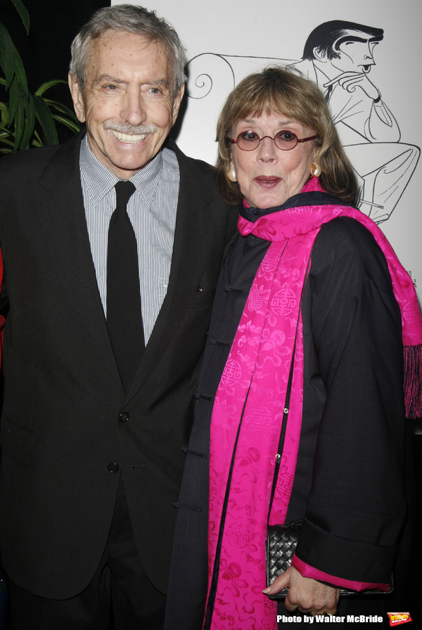 Edward Albee & Phyllis Newman attending the New Dramatists 58th Annual Spring Luncheon to honor Edward Albee at the Mariott Marquee Hotel in New York City..May 17th, 2007.