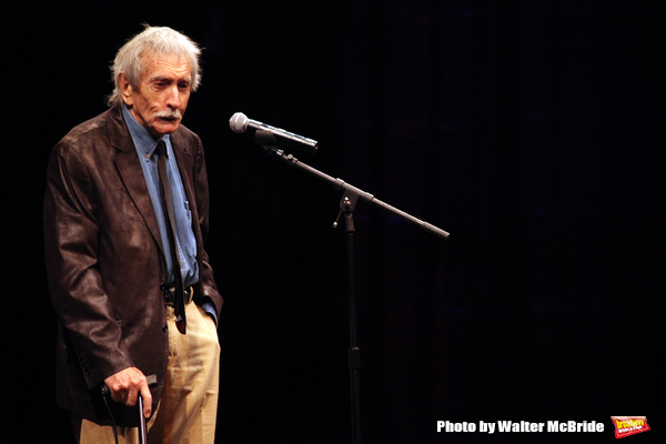 Edward Albee during the La Mama Celebrates 51 Gala honoring Estelle Parsons & Peter Swords at the Ellen Stewart Theatre in New York City on 2/27/2013