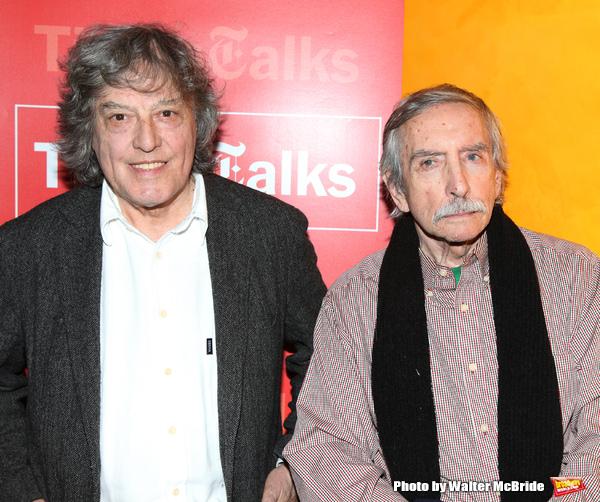 Tom Stoppard & Edward Albee