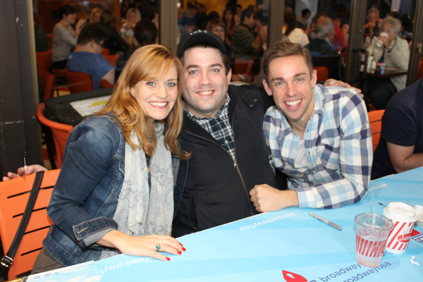 Megan Sikora, Christopher John O'Neill and Nic Rouleau
