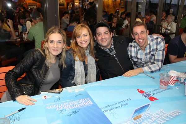 Lora Lee Gaynor, Megan Sikora, Christopher John O'Neill and Nic Rouleau Photo