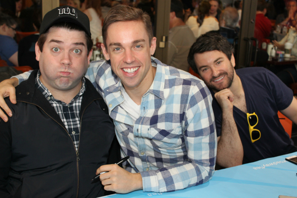 Christopher John O'Neill, Nic Rouleau and Alex Brightman Photo