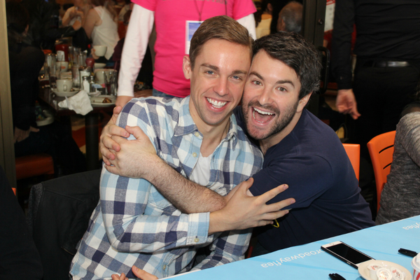 Nic Rouleau and Alex Brightman