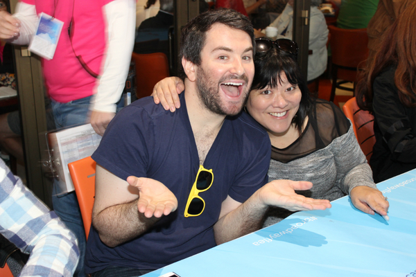 Alex Brightman and Ann Harada