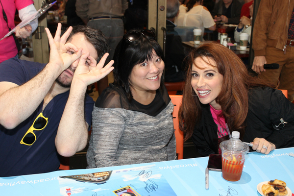 Alex Brightman, Ann Harada and Lesli Margherita