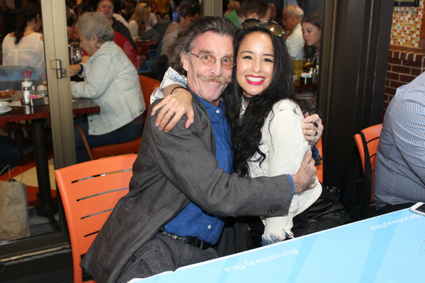 John Glover and Courtney Reed