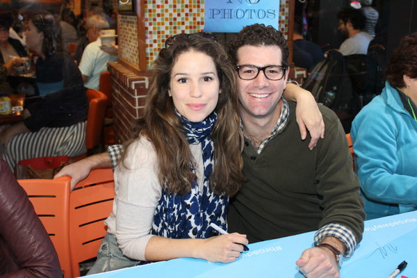 Chilina Kennedy and Ben Jacoby