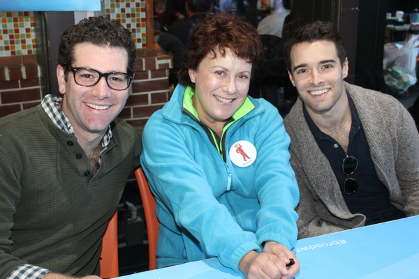 Ben Jacoby, Judy Kaye and Corey Cott