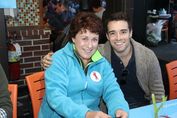 Judy Kaye and Corey Cott