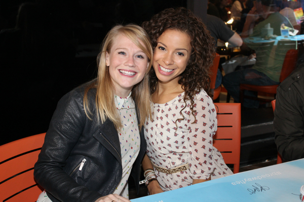Carrie St. Louis and Lexi Lawson