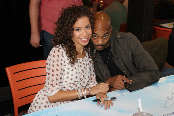 Lexi Lawson and Brandon Victor Dixon