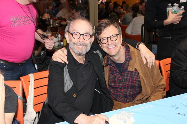 Joel Grey and Jim Caruso
