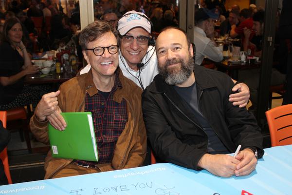 Jim Caruso, Tom Viola and Danny Burstein