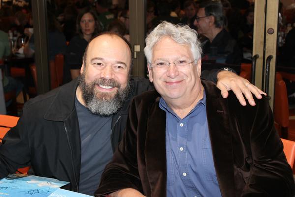 Danny Burstein and Harvey Fierstein