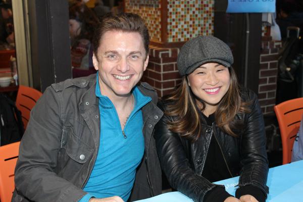 Jason Danieley and Jenna Ushkowitz