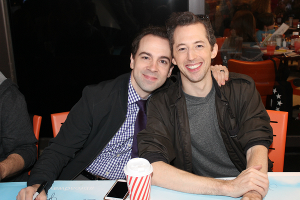 Rob McClure and Josh Grisetti