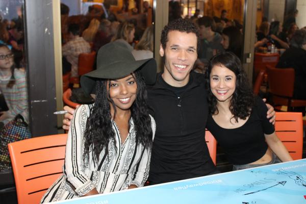 Adrienne Warren, Jordan Donica and Ali Ewoldt