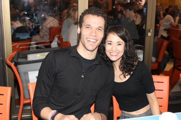 Jordan Donica and Ali Ewoldt