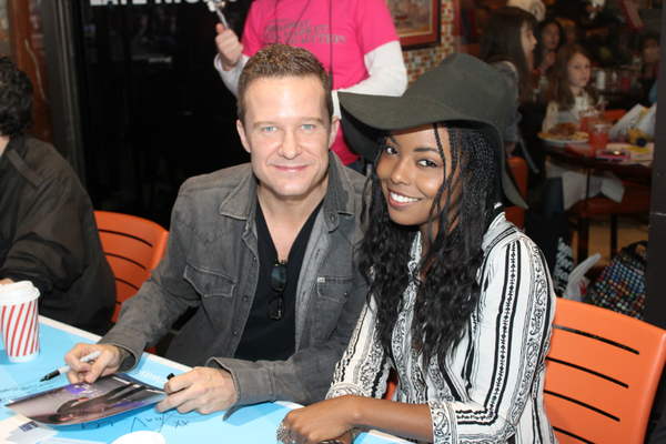 Will Chase and Adrienne Warren