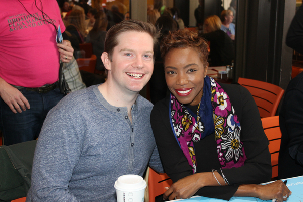 Rory O'Malley and Heather Headley