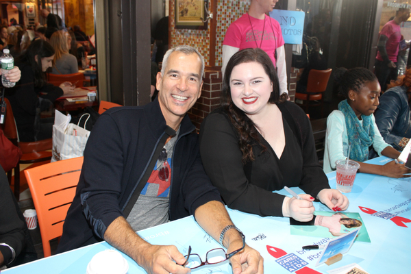 Photo Coverage: BC/EFA Flea Market 2016 Celebrity Autograph Table