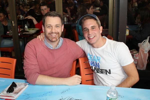 Michael Arden and Ben Platt