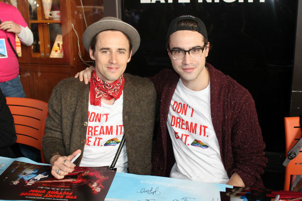 Reeve Carney and Ryan McCartan
