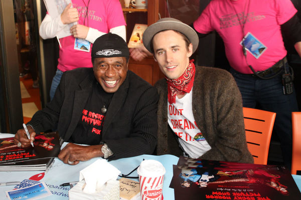Ben Vereen and Reeve Carney
