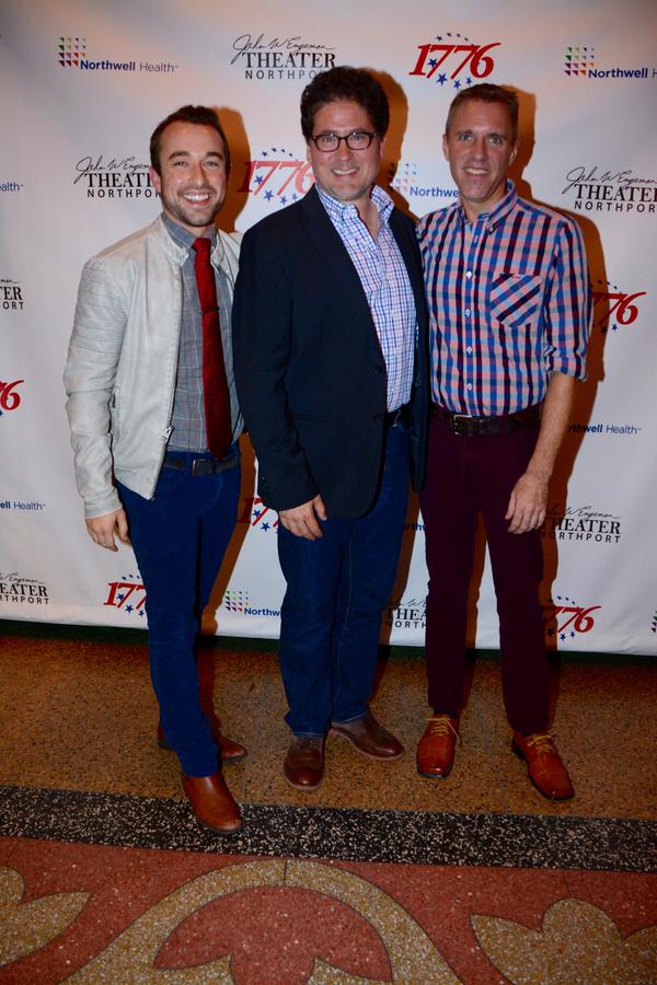 Trey Compton, Igor Goldin and Eric Alsford